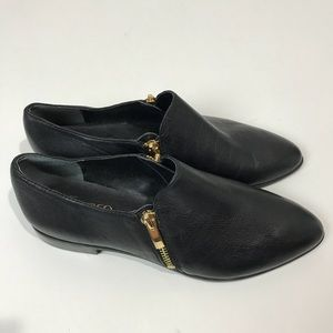 "Franco sarto | "" Kristof "" Black Ankle Booties 8"